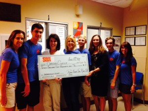 Caridad Center Donation Presented by Co-Founders