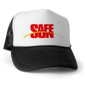 SafeSun, Inc racerback Trucker Hat